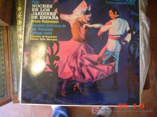 RUBINSTEIN (Música - Discos - LP Vinilo - Orquestas)