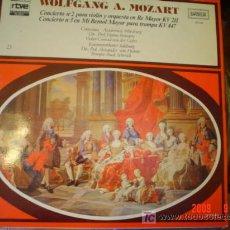 Discos de vinilo: WOLFANG A. MOZART. Lote 26790589