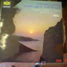 Discos de vinilo: EDVARG GRIEV Y PEER-GYNT. Lote 24350305