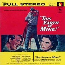 Discos de vinilo: ESTA TIERRA ES MIA-THIS EARTH IS MINE - LP USA VARESE SARABANDE VC-81076 MUSICA HUGO FRIEDHOFER. Lote 15166642