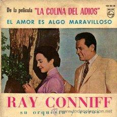 Discos de vinilo: RAY CONNIFF ··· EL AMOR ES ALGO MARAVILLOSO / JUNTANDO NUESTRAS CARAS / POR FAVOR / LAURA - (EP 45R). Lote 20497469