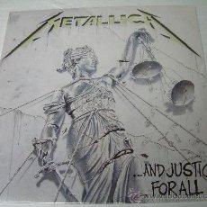 Discos de vinilo: 2 LP METALLICA AND JUSTICE FOR ALL VINILO. Lote 32846263