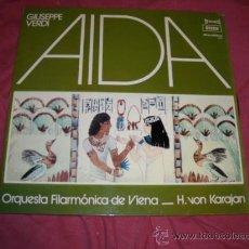 Discos de vinilo: VERDI..AIDA..KARAJAN.. LP DECCA 1961 SXL 2242 DICOLIBRO 7001 1972 VER FOTO ADICIONAL. Lote 15216687