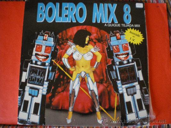 BOLERO MIX 8 2 LPS (Música - Discos - LP Vinilo - Disco y Dance)