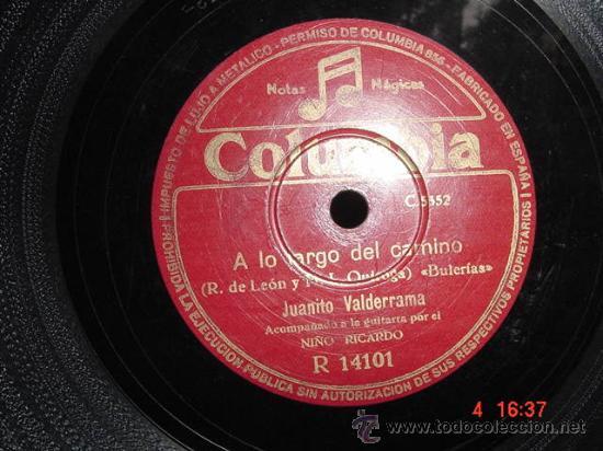 1232 JUANITO VALDERRAMA LA MUERTE DEL PIYAYO Y A LO LARGO DEL CAMINO DISCO COLUMBIA MAS EN C&C (Música - Discos - Singles Vinilo - Clásica, Ópera, Zarzuela y Marchas)