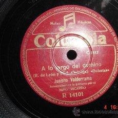 Discos de vinilo: 1232 JUANITO VALDERRAMA LA MUERTE DEL PIYAYO Y A LO LARGO DEL CAMINO DISCO COLUMBIA MAS EN C&C. Lote 26777398