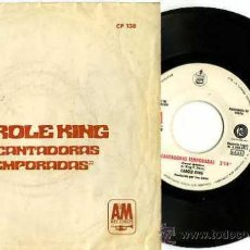 Discos de vinilo: SINGLE PROMOCIONAL CAROLE KING - ENCANTADORAS / TEMPORADAS. Lote 15232428