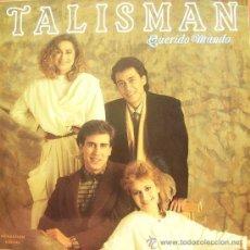 Discos de vinilo: TALISMAN-QUERIDO MUNDO LP 1986 SPAIN. Lote 15262848
