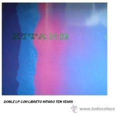 Discos de vinilo: KITARO DOBLE LP CON LIBRETO TEN YEARS 1988 GREFFE RECORDS. Lote 15279653