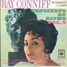 Dischi in vinile: RAY CONNIFF SU ORQUESTA Y COROS - CONCIERTO EN RITMO VOL. 6 - EP ESPAÑOL DE 1963. Lote 15288262