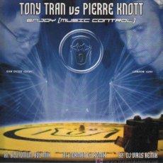 Discos de vinilo: TONY TRAN VS PIERRE KNOTT - ENJOY MUSIC CONTROL - MAXISINGLE 2002. Lote 15291508