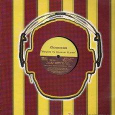 Discos de vinilo: GODDESS - BOUND IN HUMAN FLESH (3 VERSIONES) - MAXISINGLE 2003. Lote 15292071