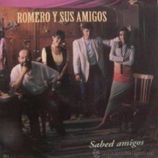 Disques de vinyle: ROMERO Y SUS AMIGOS - SABED AMIGOS - LP - PRIMER PREMIO FESTIVAL DE BENIDORM, 1993. Lote 26720986