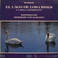 Discos de vinilo: EL LAGO DE LOS CISNES - KARAJAN - ORQUESTA FILARMÓNICA DE VIENA - 1966. Lote 24544849