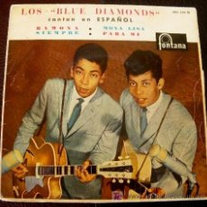 Discos de vinilo: BLUE DIAMONDS - EP 1961 SPAIN MONA LISA - FONTANA 463234 CANTADO EN ESPAÑOL. Lote 25506857