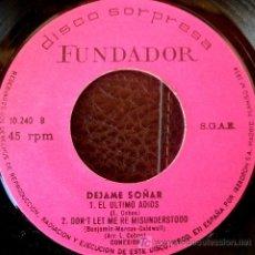 Discos de vinilo: CONEXION - SPANISH SOUL EP - ERIC BURDON & THE ANIMALS COVER - DON'T LET ME BE MISSUNDERSTOOD. Lote 26957338
