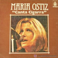 Discos de vinilo: JOYAS DEL VINILO--1 LP--AÑO 1976---MARIA OSTIZ (CANTA CIGARRA). Lote 30152997