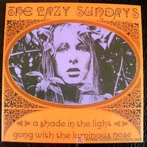 LAZY SUNDAYS EP SPAIN SUBTERFUGE RECORDS 21106, SPAIN A SHADE IN THE LIGHT (Música - Discos de Vinilo - EPs - Grupos Españoles de los 70 y 80)