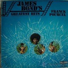 Discos de vinilo: LP - FRANCK POURCEL - JAMES BOND'S GREATEST HITS - EDICION ESPECIAL PARA EL CIRCULO DE LECTORES 1974. Lote 19815088
