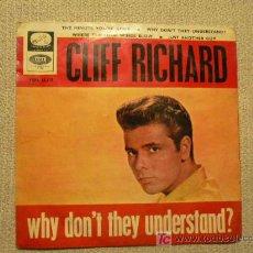 Discos de vinilo: CLIFF RICHARD SPAIN RARE REP 1965 ROCK AND ROLL. Lote 24710838