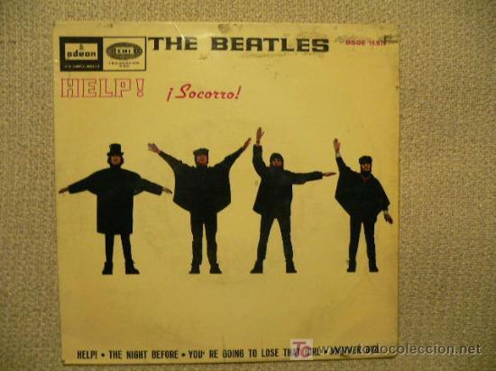 THE BEATLES SPAIN EP HELP! 1965 (Música - Discos de Vinilo - EPs - Pop - Rock Extranjero de los 50 y 60)