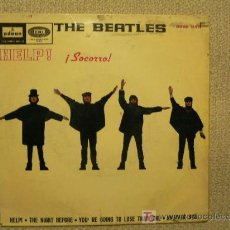 Discos de vinilo: THE BEATLES SPAIN EP HELP! 1965. Lote 24681382