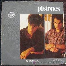 Discos de vinilo: PISTONES 45 PS SPAIN METADONA MR- ARIOLA 1983 - MOVIDA - RAMONES - POWER POP. Lote 24985524