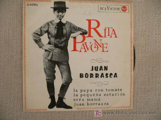 RITA PAVONE EP SPAIN 1965 YEYE GIRL (Música - Discos de Vinilo - EPs - Pop - Rock Extranjero de los 50 y 60)