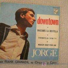 Discos de vinilo: JORGE EP SPAIN 1965 FREAKBEAT. Lote 23926573