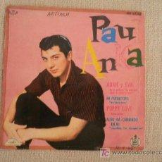 Discos de vinilo: PAUL ANKA EP SPAIN HISPAVOX 1960. Lote 23926574