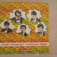 Discos de vinilo: LOS SIREX EP SPAIN 1965 LA ESCOBA+3 FREAKBEAT. Lote 23926584
