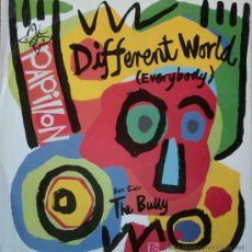 Discos de vinilo: PAPILLON - DIFFERENT WORLD (EVERYBODY) / THE BULLY (12. Lote 15553992