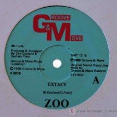 Discos de vinilo: ZOO - EXTACY (12. Lote 15555087