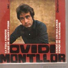 Discos de vinilo: EP OVIDI MONTLLOR - LA FERA FEROTGE + 3 - CATALA. Lote 37875553