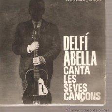 Discos de vinilo: EP DELFI ABELLA - CAP EL FUTBOL + 3 - CATALA . Lote 21727755