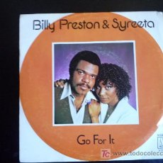 Discos de vinilo: BILLY PRESTON & SYREETA. 1979. Lote 18102212