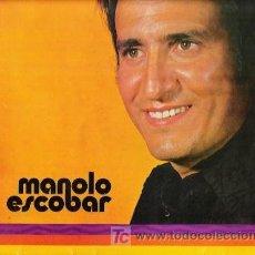 Discos de vinilo: DISCO MANOLO ESCOBAR VINILO L.P. BELTER, DISCOLIBRO 8126, LA MINIFALDA, TU ,ME JURASTES,HOROSCOPO. Lote 25576526