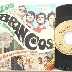 Discos de vinilo: LOS BRINCOS NADIE TE QUIERE YA-YOU KNOW SINGLE 1967. Lote 15352302