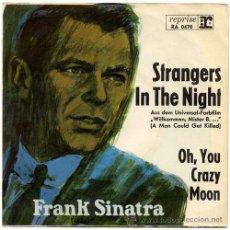 Discos de vinilo: FRANK SINATRA – STRANGERS IN THE NIGHT – SN GERMANY 1966 – REPRISE RA 0470. Lote 18263846