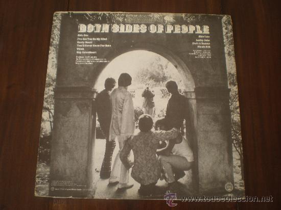 Discos de vinilo: PEOPLE - BOTH SIDES OF PEOPLE - (USA-CAPITOL-1969) LARRY NORMAN - ROCK PSYCH LP - Foto 2 - 21475104