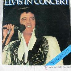 Disques de vinyle: LP DOBLE ELVIS PRESLEY // ELVIS IN CONCERT // PORTADA DOBLE. Lote 25523527