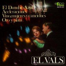 Discos de vinilo: GRAN ORQUESTA VIENESA DE CONCIERTOS ··· EL DANUBIO AZUL / VINO, MUJERES Y CANCIONES... - (EP 45 R). Lote 21543631