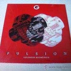 Discos de vinilo: LP ESPLENDOR GEOMETRICO PULSION INDUSTRIAL MINIMAL. Lote 27218025