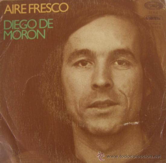 DIEGO DE MORÓN - AIRE FRESCO - 1977 (Música - Discos - Singles Vinilo - Flamenco, Canción española y Cuplé)