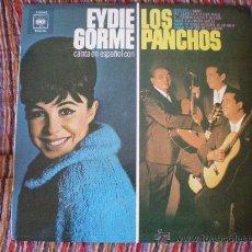 Discos de vinilo: EYDIE GORME CANTA EN ESPAÑOL CON LOS PANCHOS . Lote 27023992