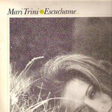 Discos de vinilo: MARI TRINI LP SELLO HISPAVOX AÑO 1971 ESCUCHAME. Lote 15424901