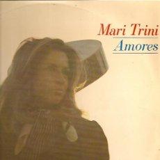 Discos de vinilo: MARI TRINI LP SELLO HISPAVOX AÑO 1970 AMORES. Lote 15424936