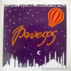 Discos de vinilo: PAVESOS - VALÈNCIA - ESTAMBUL - KONSTANTINOPOLIS - 1979. Lote 26423820