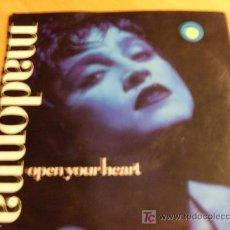 Vinyl records - MADONNA (OPEN YOUR HEART) SINGLE ALEMANIA 1986 ( VG+ / EX ) - 15454605