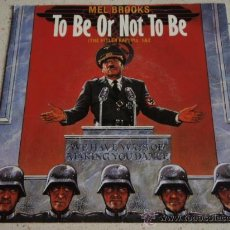 Discos de vinilo: MEL BROOKS ( TO BE OR NOT TO BE ) 'THE HITLER RAP PARTS 1 & 2' 1983-SWEDEN SINGLE45. Lote 15457055